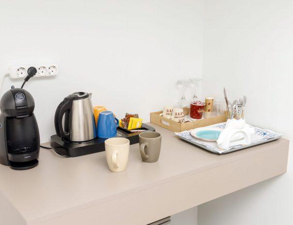 Superior Studio with Terrace coffee