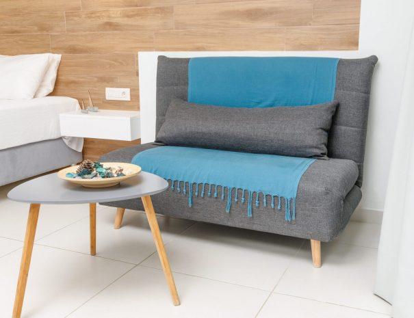 Superior Studio with Terrace sofa